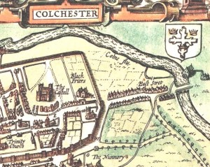 Speed Essex and Colchester 1610 CLOSER DETAIL