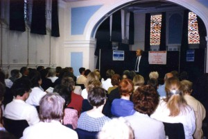 GF tutors' meeting in the 1990s