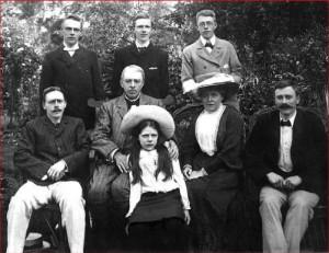 Fenn family at Grey Friars